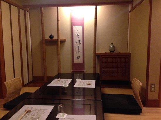 Naniwakappo Kigawa: 浪花割烹 喜川(個室・3階)