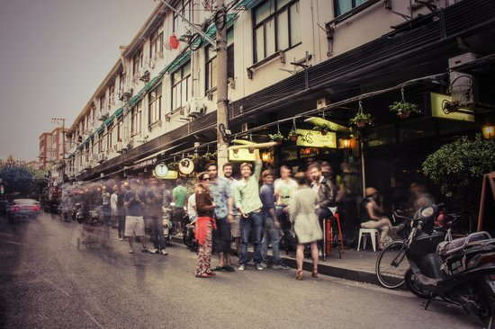 Le Cafe Des Stagiaires : Yongkang Lu
