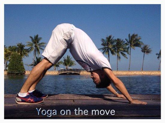 Dusit Thani Hua Hin : Self Yoga Practice
