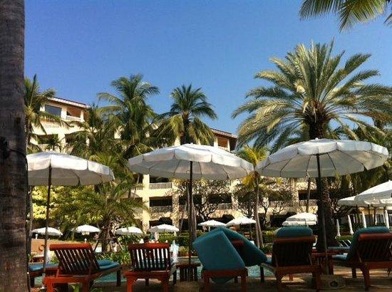 Dusit Thani Hua Hin : Hotel view