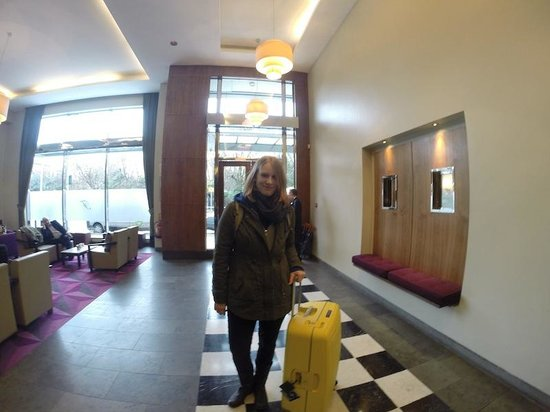 Fitzwilliam Hotel Dublin: Only a short stay but left feeling extremely happy