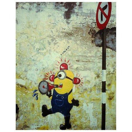 G Hotel Gurney: Street art