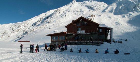 Ice Hotel Romania: Balea Huette (Cabana Balea)