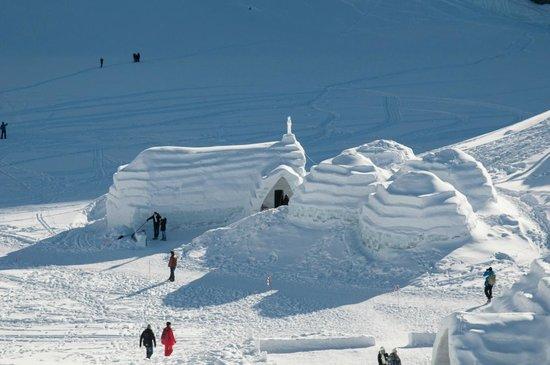 Ice Hotel Romania: Eiskirche