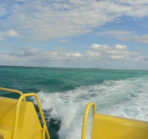 Isla Pasion: The view from the boat ride