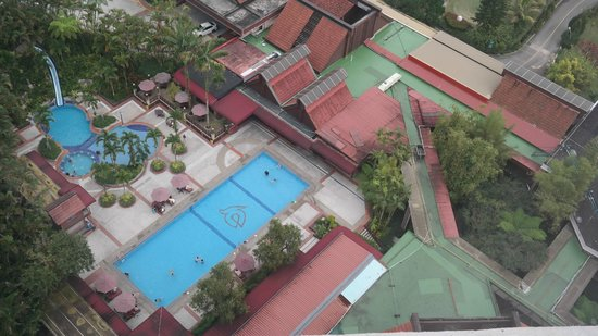 Awana Hotel: pool view from 24560