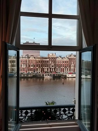 InterContinental Amstel Amsterdam: View from room.