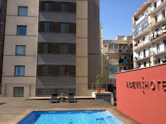 pisicina exterior picture of acevi villarroel barcelona