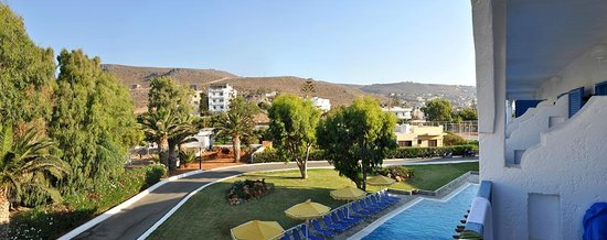 Mitsis Rinela Beach Resort & Spa : Вид из номера 245 с балкона