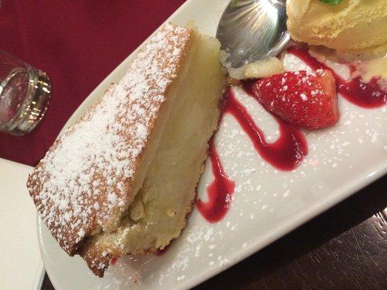 Maldron Hotel Parnell Square: Yummy desert