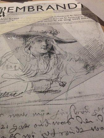 Musée de la maison de Rembrandt : etching workshop