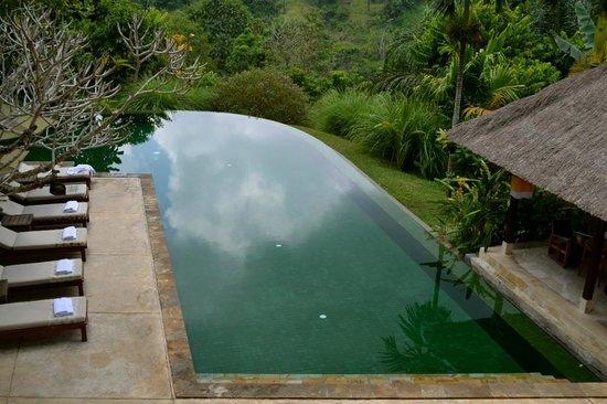 Komaneka at Tanggayuda: Infinity pool