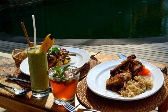 Komaneka at Tanggayuda: Amazing food