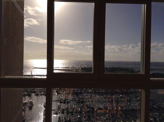 Hawaii Prince Hotel Waikiki: 眺望