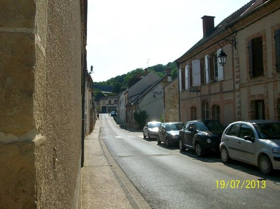 Street outside La Chevalee