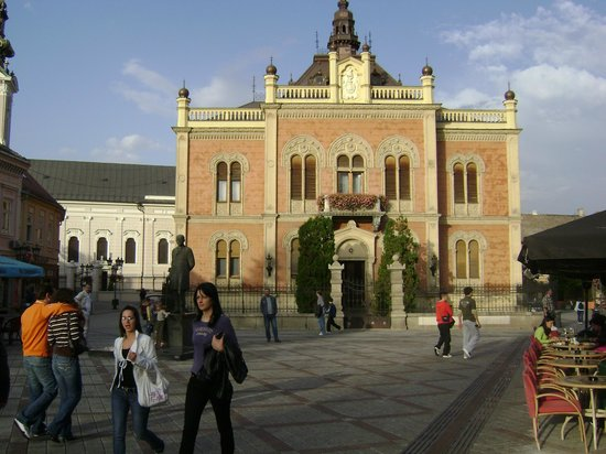 Vladicanski Dvor - Bishops Palace: The palace