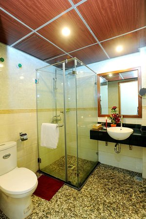 Sapa Lodge Hotel : The standing shower