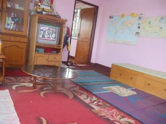 Homestay Nepal Living Room