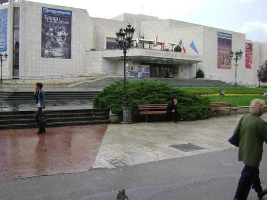 Serbian National Theatre in Novi Sad : SNP