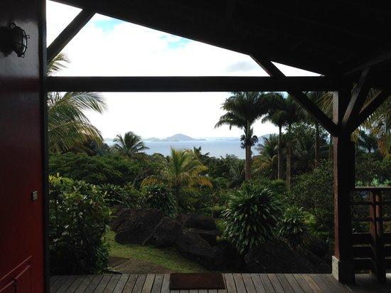 Le Jardin Malanga: Vue de notre cottage