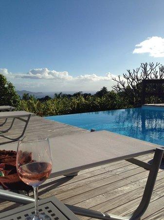 Le Jardin Malanga: Après-midi autour de la piscine