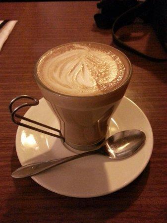 Paragon Restaurant: My latte