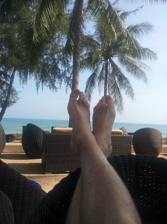 NishaVille Resort : Beach lounge