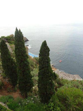 Atahotel Capotaormina: Vue depuis la terrasse
