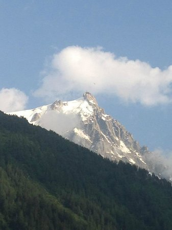 Grand Hôtel des Alpes : Vue depuis notre chambre