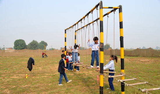 Shikhar Adventure Park : Mogli Walk