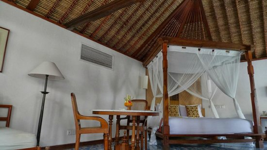 Tandjung Sari: 寝心地良しのベッド