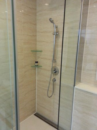 iclub Wan Chai Hotel : Shower cabin - they also have rain shower