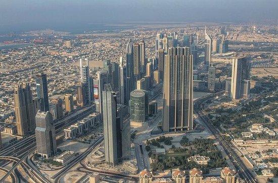 Sheikh Zayed Road: SZR from the Burj Khalifa