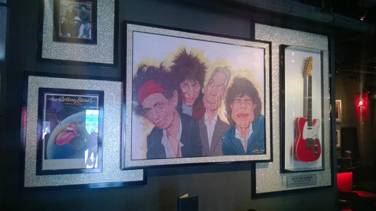 Hard Rock Cafe Bangkok : Rolling Stones