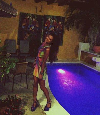 Hotel Casa Gloria : The pool area