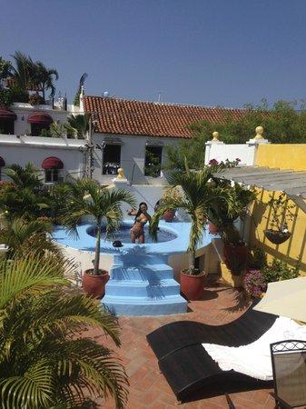 Hotel Casa Gloria : The rooftop terrace