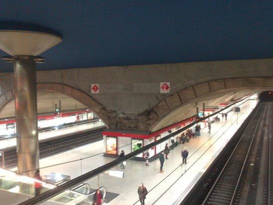 Estación de RENFE de Nuevos Ministerios
