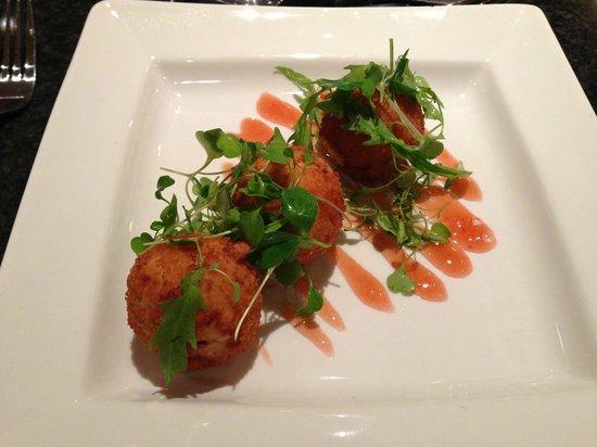 Jurys Inn Oxford: Salmon Fishcakes