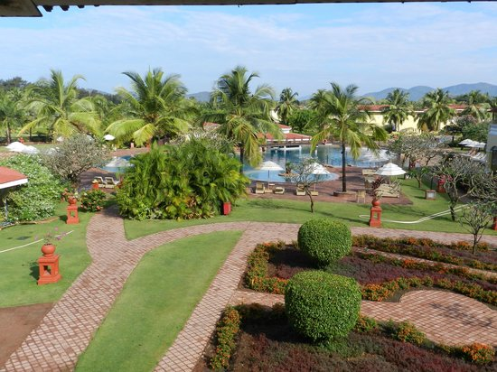 The LaLiT Golf & Spa Resort Goa: From the room window