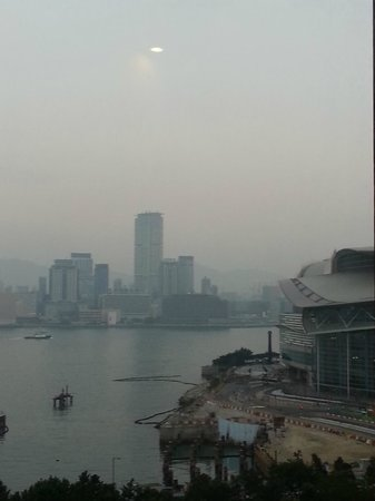 The Harbourview Hong Kong: view from window - Room # 1004