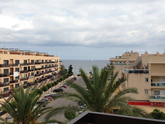 Hotel Mare Nostrum : Вид с балкона