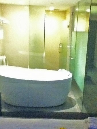 Furama City Centre: Tub and shower