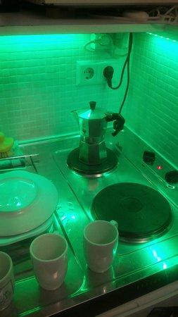 Ark16: fornello per l'immancabile caffè