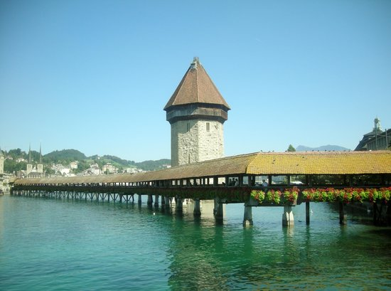 Lake Luzern : Kapellbrücke