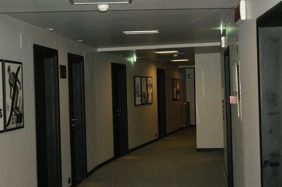 Hotel Principi di Piemonte : Corridoio - camere