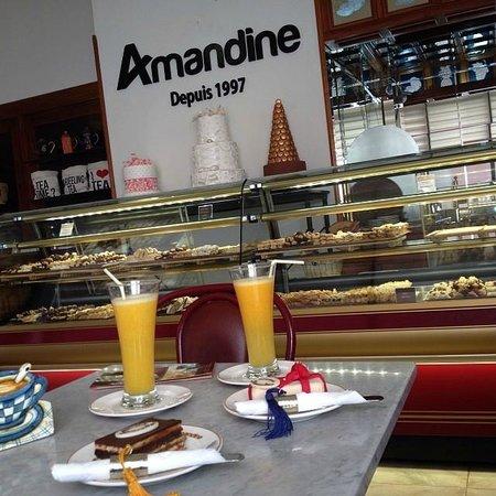 Patisserie Amandine Marrakech : lovely shop