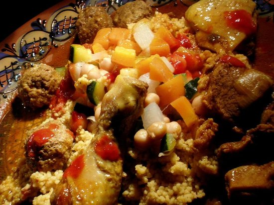 L'Arc en Ciel : couscous royale kabyle