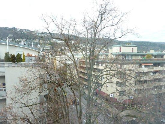 Mercure Plaza Biel: la vue depuis notre chambre