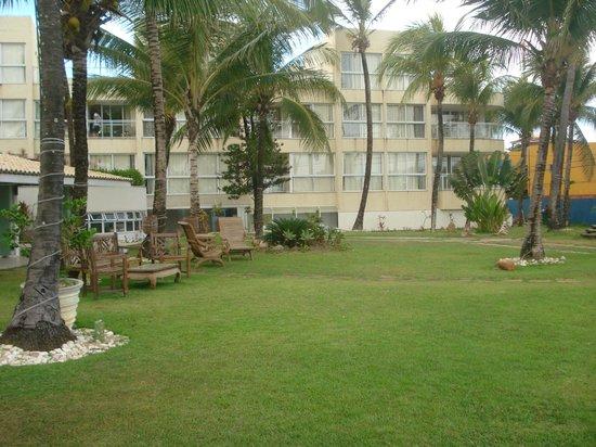 Mar Brasil Hotel: Vista do Jardim