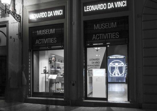 Leonardo da Vinci Museum : You can find the Museum  behind the Domo.